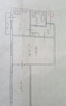 Квартира, 42 кв. м, Улица Адмирала Юмашева, 17А