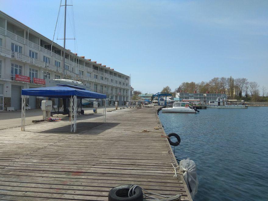 Продается эллинг в Севастопольском яхт-клубе, 140 кв. м